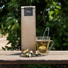 Weiβer Tee mit Orangen und Schokolade 100g