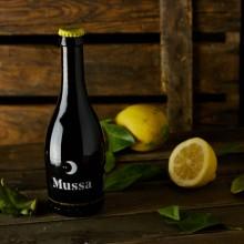1 Botella de Cerveza Artesana de Valencia Mussa - Cerveza con limón recién recolectado