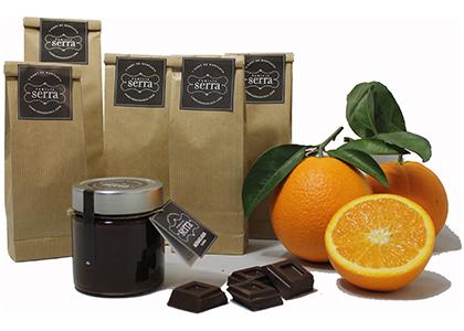 Naranja y chocolate