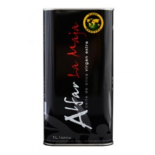 Aceite de oliva Virgen Extra Alfar. 1 lata de 1 litro