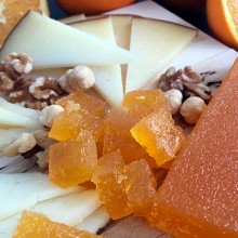 Natural süssige Orangen-Gelee 300g