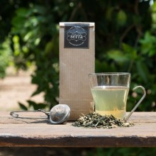 Green tea with Orange and Rosemary 100g