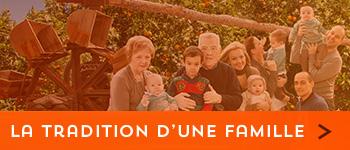 La tradition d'une famille